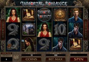 Microgaming kasinon Immortal Romance
