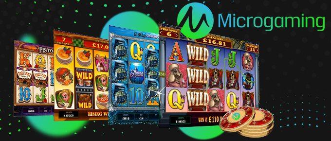 Microgaming pelit bonukset ilmaiset ja kasinot