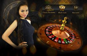 casino-nainen