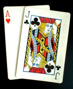 blackjack-netissä