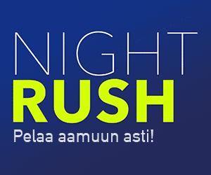 nightrush-kokemuksia